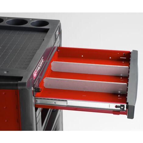 Jeu de 2 cloisons tiroirs H 60 mm Facom JET215