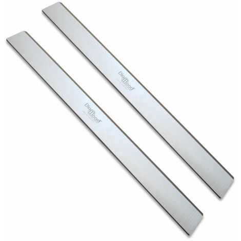 Jeu de 2 fers de dégauchisseuse/raboteuse 250 x 30 x 3 mm acier HSS (les 2 fers) - Diamwood
