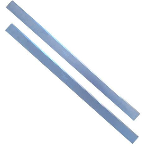 Jeu de 2 fers de dégauchisseuse/raboteuse 630 x 30 x 3 mm acier HSS (les 2 fers) - Diamwood