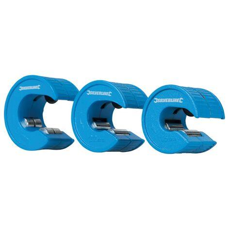 Jeu de 3 coupe-tubes compacts - 15, 22 et 28 mm