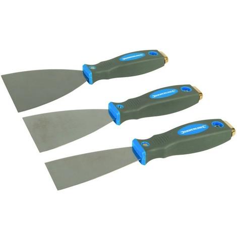 Jeu de 3 couteaux à enduire Expert 50, 75 et 100 mm