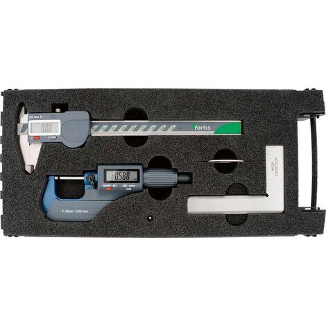 Jeu de 3 instruments de mesure numérique FORTIS 1 PCS