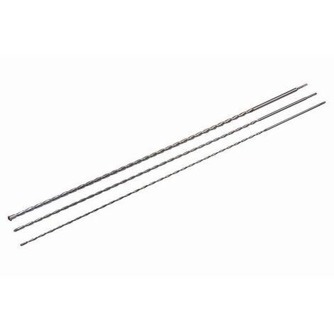 Jeu de 3 mèches SILVERLINE SDS-Plus - 1500 mm - 633828