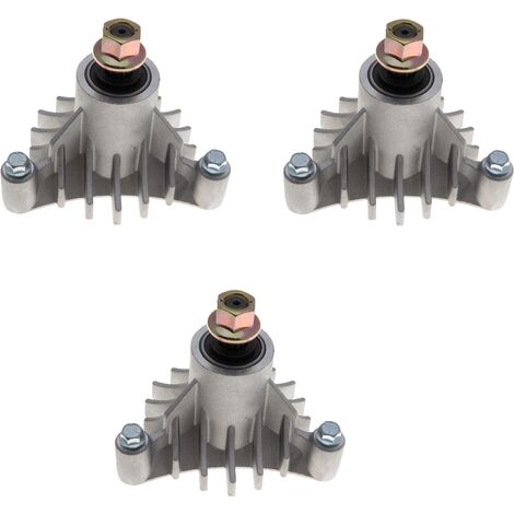 Jeu de 3 paliers de lame autoportée AYP coupe 112, 117 et 127cm remplace 532 14 36-51