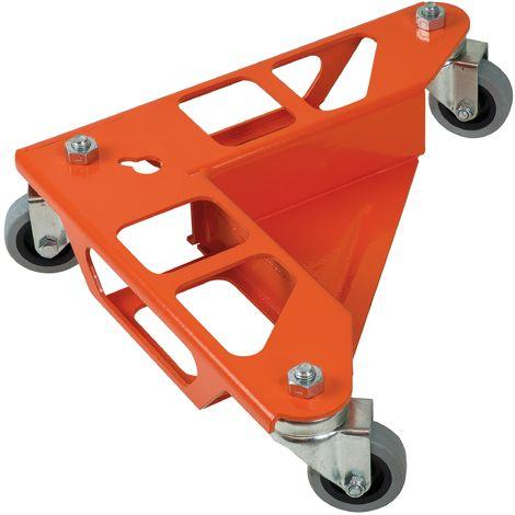 Jeu de 4 coins roule meubles avec support - Mob/Mondelin