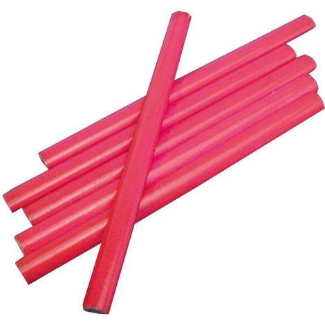 jeu de 6 crayons menuisier