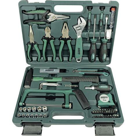 Jeu de 74 outils dans une mallette S419901