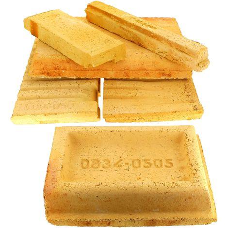 Jeu de briques refractaires pour Cuisiniere bois charbon De dietrich