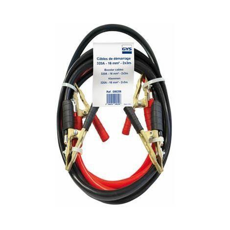 Jeu de cables de démarrage 3 mètres 16mm² Gys 056206