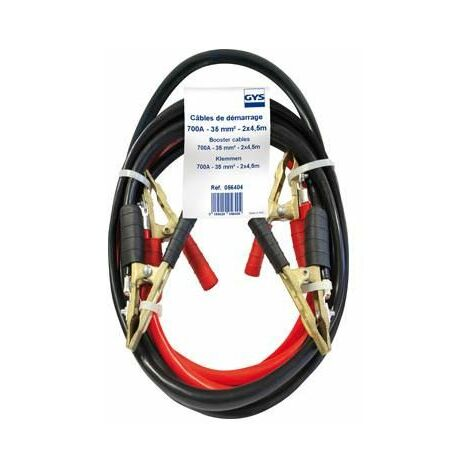 Jeu de cables de démarrage 4,50 mètres 35mm² Gys 056404