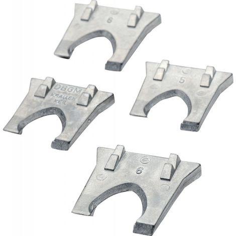 Jeu de cales en métal 3 pièces Acier CircumPRO