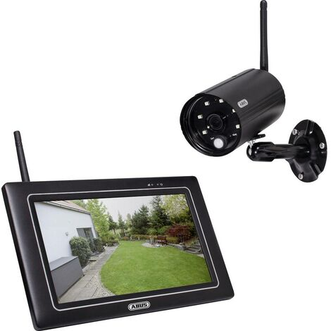 Jeu de caméras de surveillance ABUS OneLook PPDF16000 radio 4 canaux avec 1 caméra 1920 x 1080 pixels 2.4 GHz 1 pc(s)