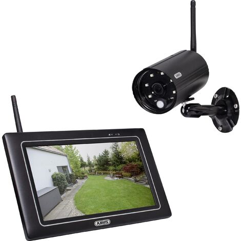 Jeu de caméras de surveillance ABUS OneLook PPDF16000 radio 4 canaux avec 1 caméra 1920 x 1080 pixels 2.4 GHz 1 pc(s) X972771