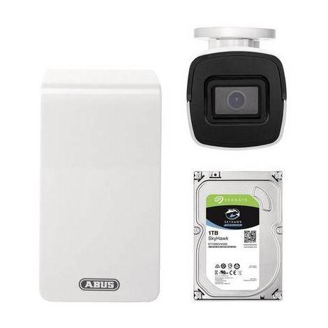 Jeu de caméras de surveillance ABUS TVVR36511T Ethernet, Wi-Fi IP-6 canaux avec 1 caméra 1920 x 1080 pixels 1 pc(s)