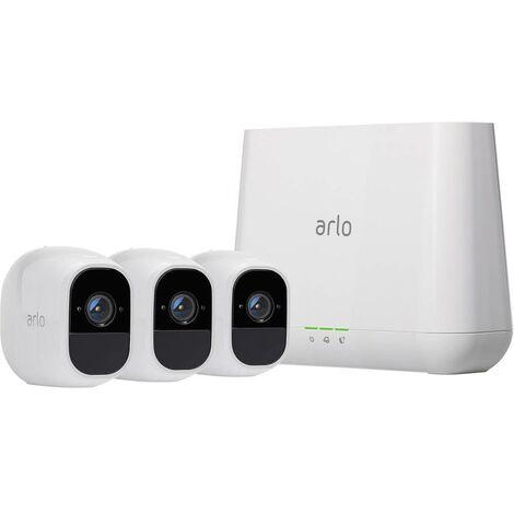 Jeu de caméras de surveillance ARLO ARLO PRO 2 VMS4330P-100EUS Wi-Fi IP- avec 3 caméras 1920 x 1080 pixels 1 pc(s)