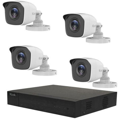Jeu de caméras de surveillance HiLook TK-4144BH-MM hl144b 4 canaux avec 4 caméras 2.560 x 1.440 pixels 1 TB 1 pc(s)