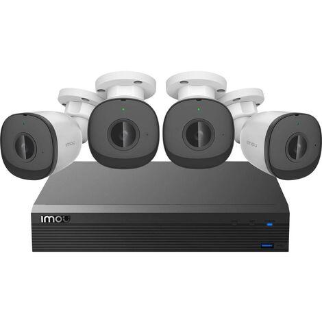 Jeu de caméras de surveillance IMOU POE-Kit IM-PoE-Security-Kit-imou Ethernet IP-4 canaux avec 4 caméras 1920 x 1080 pi