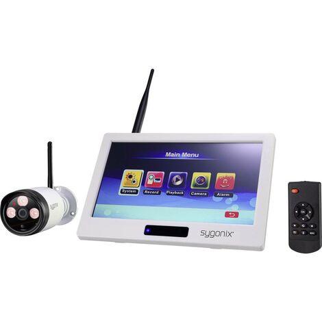 Jeu de caméras de surveillance Sygonix 1594378 radio avec 1 caméra 2.4 GHz 1 pc(s)