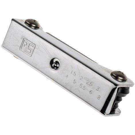 Jeu de clés hexagonales pliables, RS PRO, 9 pièces , Acier chrome vanadium