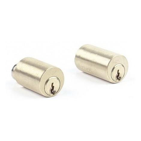 Jeu de cylindre pour serrure Vega JPM - laiton poli - 50mm - 833750-01-0A