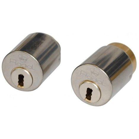 """main image of """"Jeu de cylindres Radial NT +pour serrure Multilock A2P**"""""""