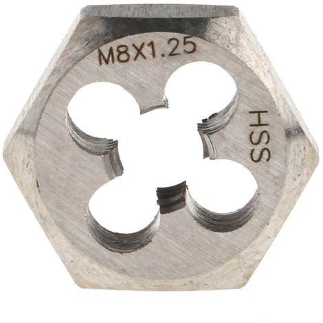 Jeu de filières 5 pièces M5 → M12