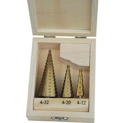 Jeu de forets coniques Brüder Mannesmann M54603 3 pièces 1 pc(s)