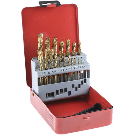 Jeu de forets Microbox HSS 0.3mm à 1.6mm, 20 pièces