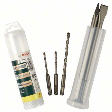 Jeu de forets pour marteau-perforateur 5 pièces Bosch Accessories Promoline 2607019455 carbure de tungstène SDS-Plus 1