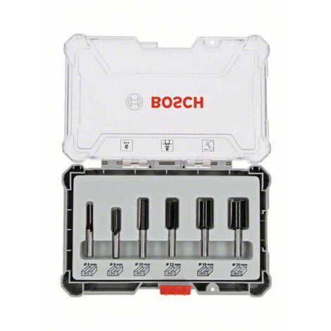 Jeu de fraises à rainurer Bosch, 6 pces, tige 6mm Bosch Accessories 2607017465 1 pc(s)