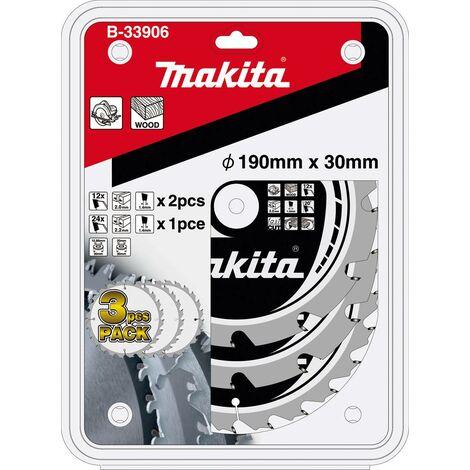 Jeu de lames de scie circulaire Makita B-33906 190 x 30 x 1.4 mm 1 set