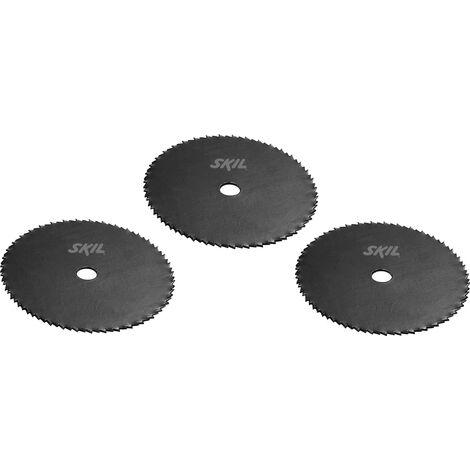 Jeu de lames de scie en acier trempé (3 pièces) W002111