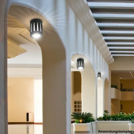 Jeu de lumière vont bien radiateurs en verre lumineux en aluminium 3 mur extérieur gravé IP54