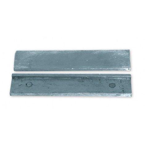 Jeu de plaque aluminium pour étau avec mors 125 mm - 55002 - Piher