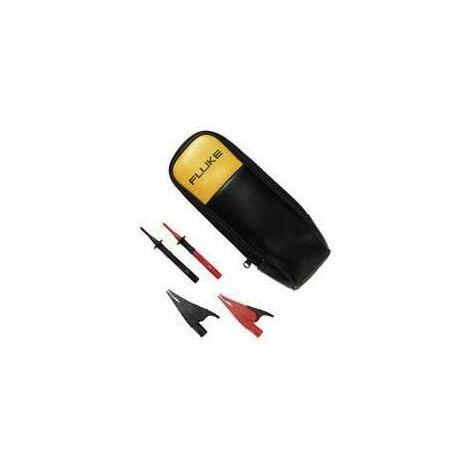 Jeu de pointes de touche de sécurité Fluke T5-KIT-1 3971169 enfichable 4 mm CAT III 1000 V noir 1 pc(s) Q75705