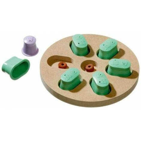 jeu de réflexion DOGGY brain train discover. ø 25 x 4.5 cm. jeu pour chien