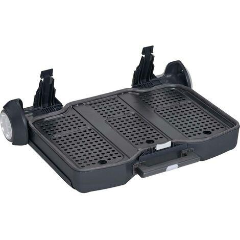 Jeu de roulettes pour valise à outils Allit 457980 1 pc(s)
