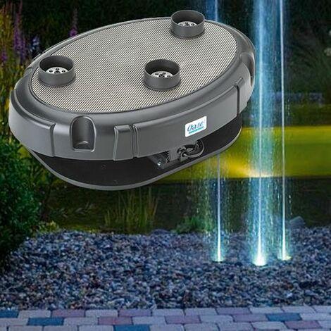 jeu d'eau et lumière 3 ajutages 40 w - water trio - oase