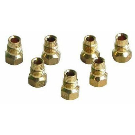 Jeu d'injecteurs gaz butane propane (308095-18078) (93907061) Four, cuisinière 308095_3662734109342 ROSIERES, CANDY