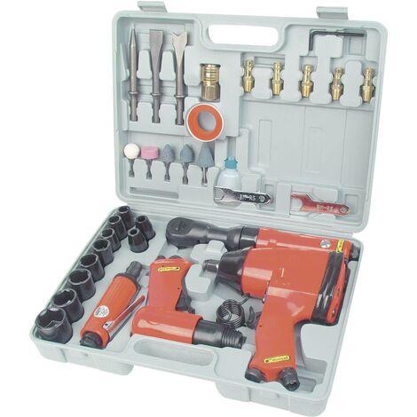 Jeu d'outils à air comprimé 33 pcs. W82855