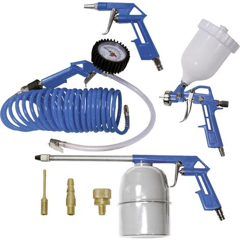 Jeu d'outils à air comprimé 8 pièces C071341