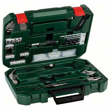Jeu doutils Bosch Accessories Promoline All in one Kit 2607017394 pour les bricoleurs en valise 110 pièces 1 set