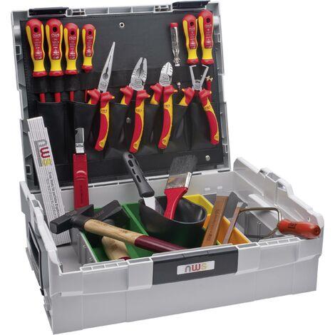 Jeu d'outils NWS Sortimo L-BOXX 327-23 pour électricien en valise 23 pièces 1 pc(s) X91416