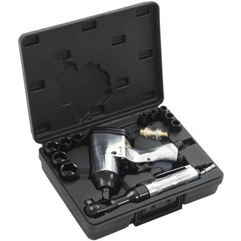 """Jeu d'outils pneumatiques 1/2"""" 16 pcs"""