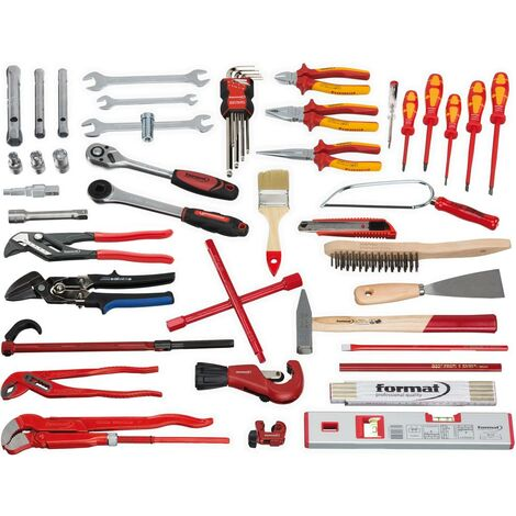 Jeu d'outils Sanitaire 50 pièces FORMAT 1 PCS