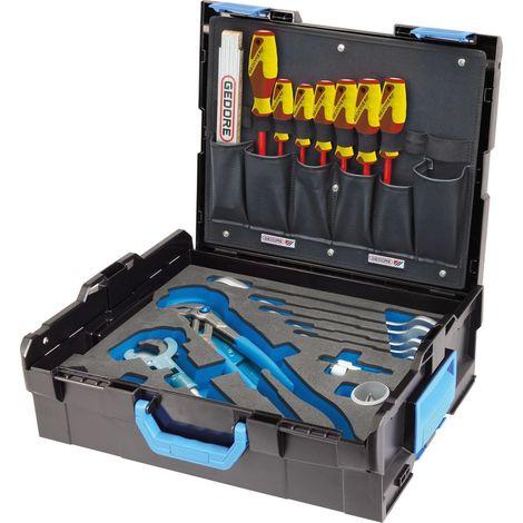 Jeu d'outils Sanitaire L-Boxx 136 Sanitaire 44 pièces GEDORE 1 PCS
