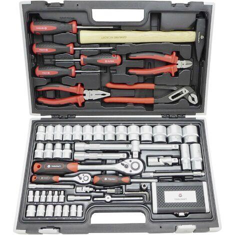 Jeu d'outils TOOLCRAFT HT03408 819444 pour professionnels en valise 109 pièces 1 set C90111