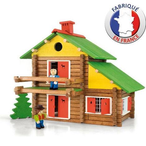 JEUJURA - Construction en bois - Mon Chalet en Bois 175 pieces