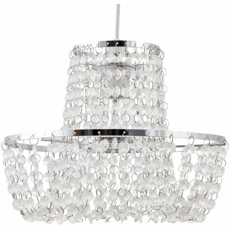 Jewelled Easy Fit Light Shade