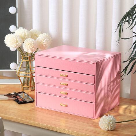 Jewellery Box Desktop Cabinet Armoire Cosmetic Jewelry Storage Case